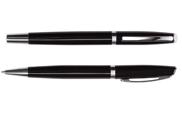 Set de Roller y Bolígrafo Metálico en estuche LG220