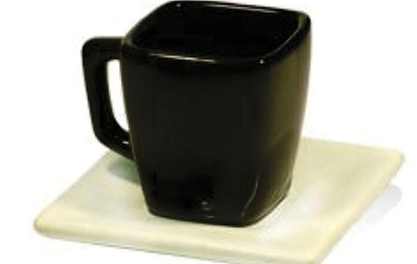 Taza de Ceramica combinada con plato
